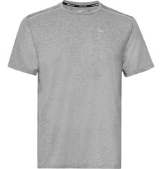 Nike Running - Rise 365 Perforated Mélange Dri-FIT T-Shirt