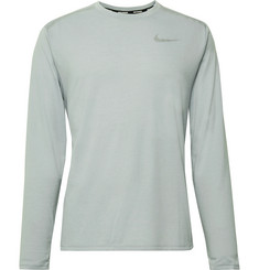 Nike Running Rise 365 Mesh-Panelled Dri-FIT T-Shirt