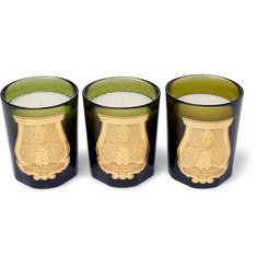 Cire Trudon - Odeurs D'Hiver Scented Candle Set, 3 x 100g