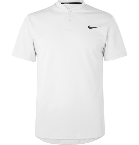 57e44954 Nike Court Advantage Dri-Fit Tennis Polo Shirt In Gray | ModeSens