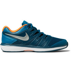 Nike Tennis Air Zoom Prestige Rubber-Trimmed Mesh Tennis Sneakers