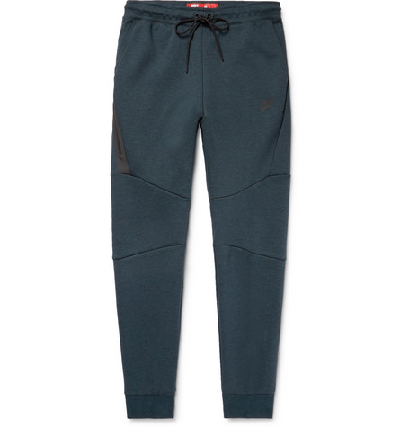 Slim-fit Tapered Cotton-blend Tech Fleece Sweatpants Nike zvBoHXNMT