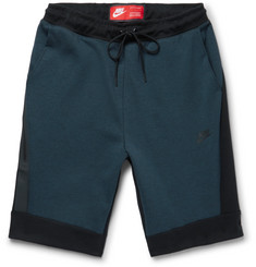 Nike Sportswear Cotton-Blend Tech Fleece Shorts
