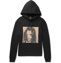 CALVIN KLEIN 205W39NYC + Andy Warhol Foundation Printed Loopback Cotton-Jersey Hoodie
