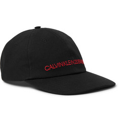 CALVIN KLEIN 205W39NYC - Embroidered Cotton-Canvas Baseball Cap
