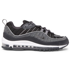 Nike Air Max 98 SE Mesh, Leather and Suede Sneakers