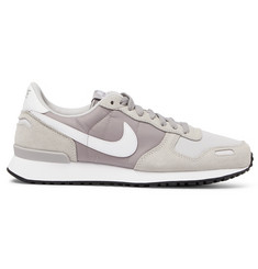 Nike Air Vortex Suede, Nylon and Mesh Sneakers