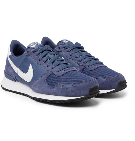 Air Vortex Suede, Nylon And Mesh Sneakers Nike