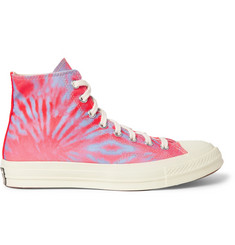 Converse 1970s Chuck Taylor All Star Tie-Dyed Canvas High-Top Sneakers
