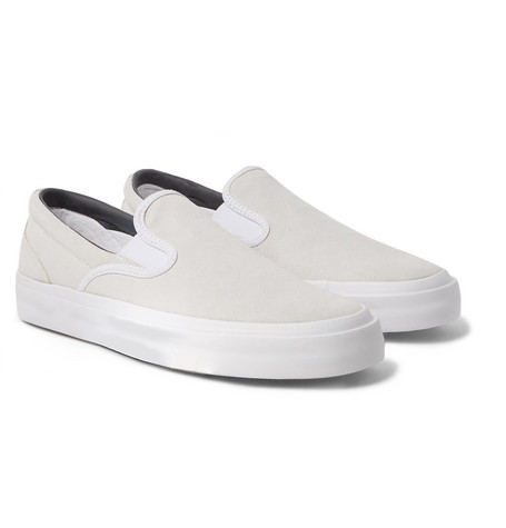 3cf6c74c6dba Converse - One Star CC Suede Slip-On Sneakers