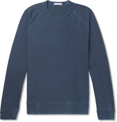 James Perse Loopback Supima Cotton-Jersey Sweatshirt