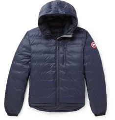 Canada Goose Lodge Packable Shell Hooded Down Jacket