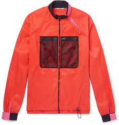 Valentino Mesh-Panelled Shell Jacket