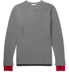 Valentino - Virgin Wool and Cashmere-Blend Sweater