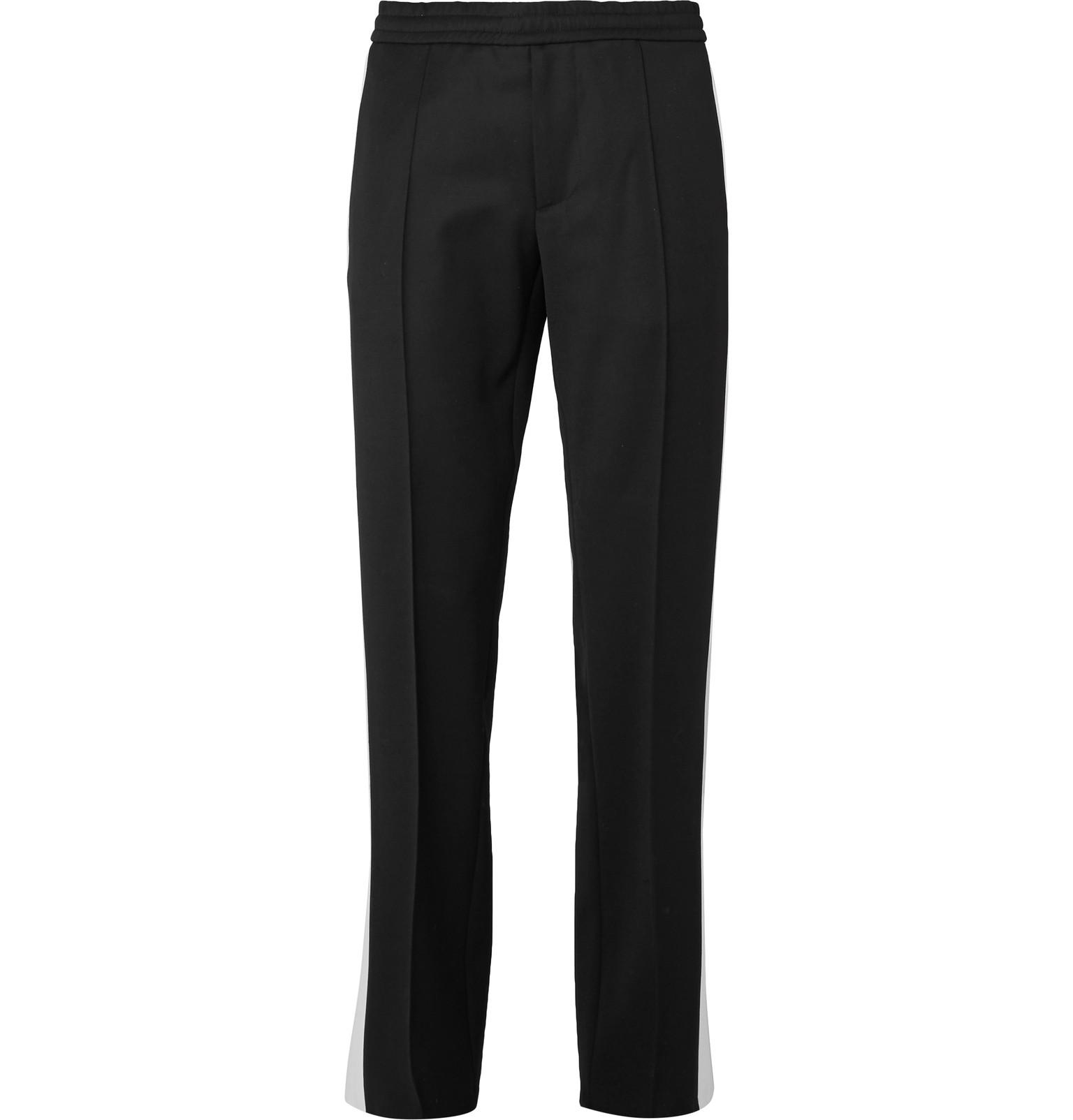 Valentino Virgin Wool-Twill Drawstring Trousers