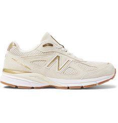 New Balance 990V4 Suede Sneakers