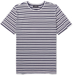 A.P.C. Rody Striped Cotton-Jersey T-Shirt