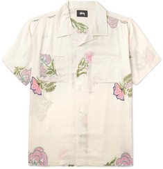 Stüssy - Hana Camp-Collar Printed Voile Shirt