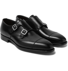 George Cleverley - Thomas Cap-Toe Leather Monk-Strap Shoes