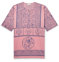 Acne Studios Ringoh Printed Cotton-Voile Shirt
