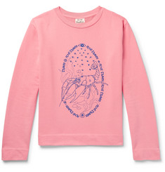 Acne Studios - Oslavi E Crayfish Embroidered Loopback Cotton-Jersey Sweatshirt