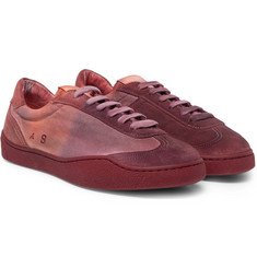 Acne Studios - Lars Canvas And Suede Sneakers