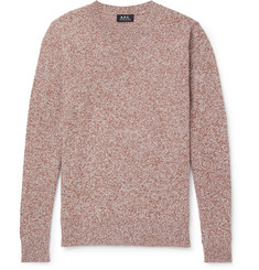 A.P.C. Rickon Mélange Wool Sweater