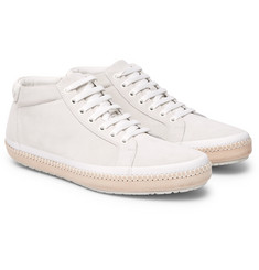 Suede-trimmed Leather High-top Sneakers McCaffrey Discount Best Store To Get Official Cheap Price Original Clearance Order Sale Manchester 0mqR0yvKn5