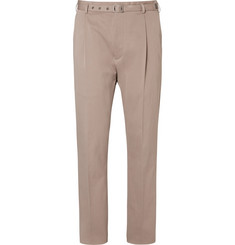 Bottega Veneta - Stretch-Cotton Twill Trousers