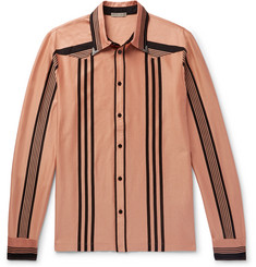 Bottega Veneta Striped Organic Cotton Shirt