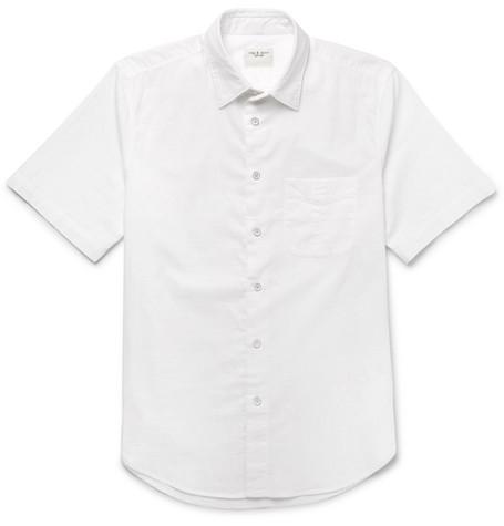 Standard Issue Beach Cotton Shirt - White