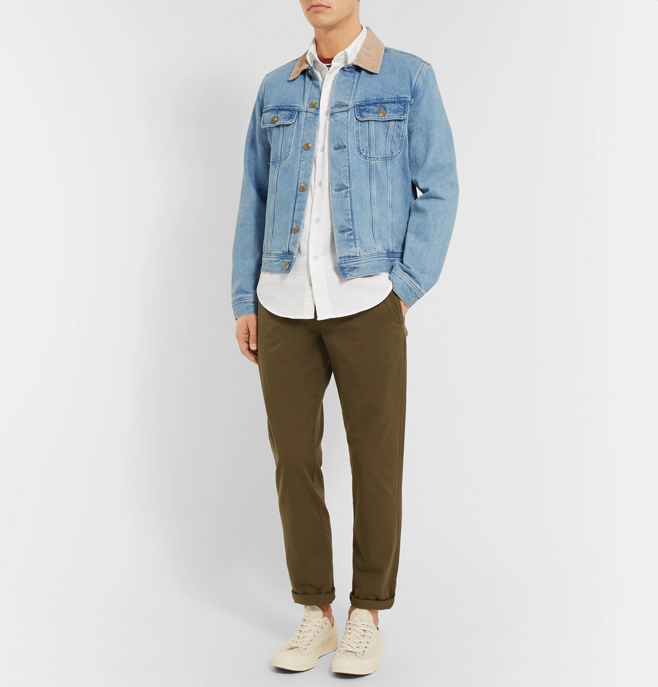 rag & bone Standard Issue Beach Cotton Shirt