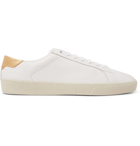 Sl/06 Court Classic Leather-trimmed Suede Sneakers - NavySaint Laurent 6cWrXRSA