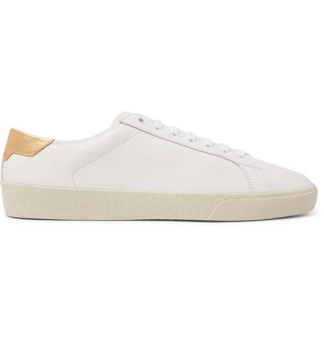 Sl/06 Court Classic Leather-trimmed Suede Sneakers - NavySaint Laurent P0Mmrz