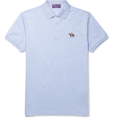 Ralph Lauren Purple Label Cotton-Pique Polo Shirt