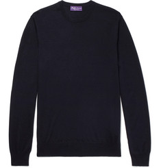 Ralph Lauren Purple Label Slim-Fit Cashmere Sweater