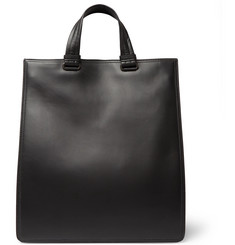 Bottega Veneta Intrecciato-Panelled Leather Tote Bag