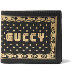 Gucci - Printed Leather Billfold Wallet