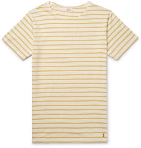 Striped Cotton-jersey T-shirt Armor Lux Cheap Sale Websites 6J4RmANG