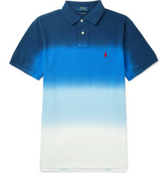Polo Ralph Lauren Slim-Fit Dégradé Cotton-Piqué Polo Shirt