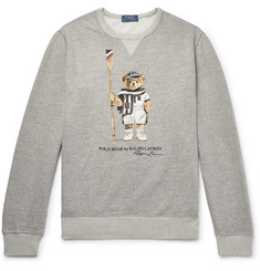 Polo Ralph Lauren Printed Loopback Cotton-Blend Jersey Sweatshirt