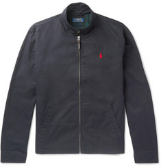 Polo Ralph Lauren Slim-Fit Cotton-Twill Blouson Jacket