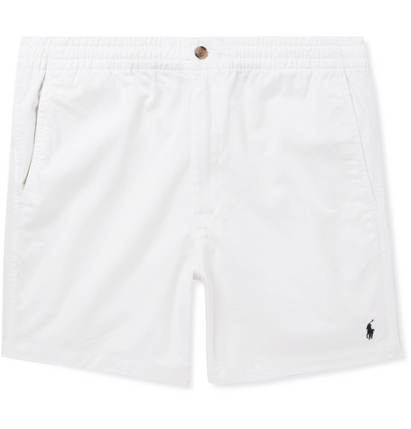 Ralph Lauren Prepster Stretch-cotton Twill Shorts - White BupVE