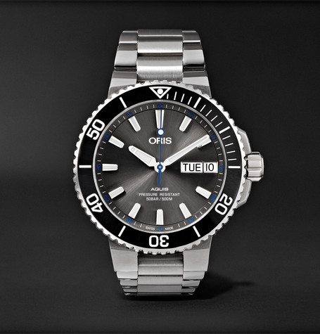 Oris Aquis Hammerhead Limited Edition Automatic 45.5mm Stainless Steel Watch, Ref. No. 01 752 7733 4183-S
