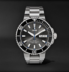 Oris - Aquis Hammerhead Limited Edition Automatic 45.5mm Stainless Steel Watch