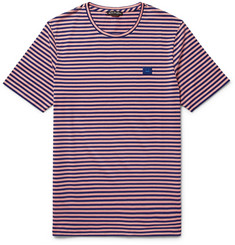 Acne Studios Striped Cotton-Jersey T-Shirt