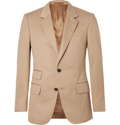 Kingsman Eggsy's Beige Herringbone Cotton Suit Jacket