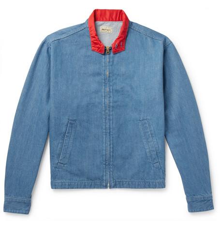 KAPITAL Denim Blouson Jacket - Indigo