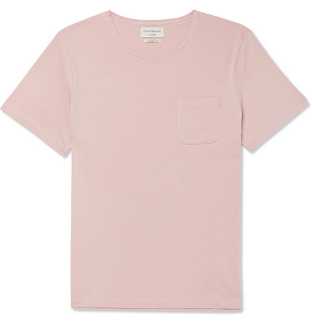 OLIVER SPENCER LOUNGEWEAR Supima Cotton-Jersey Pyjama T-Shirt