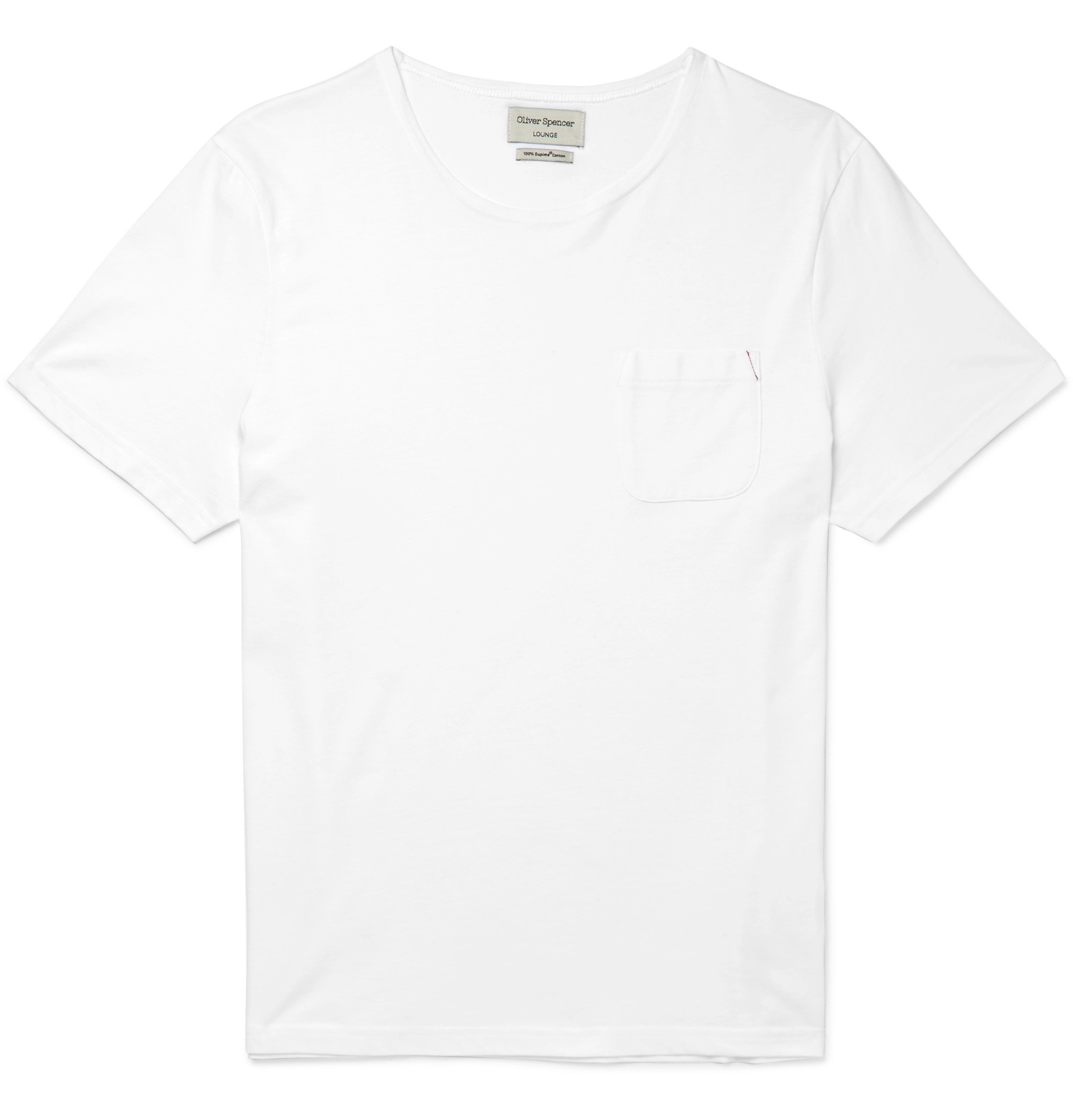 Sale Cheapest Price Affordable Online Supima Cotton-jersey Pyjama T-shirt Oliver Spencer Comfortable Cheap Online Clearance Newest Discount Official Site TmghdPAUa